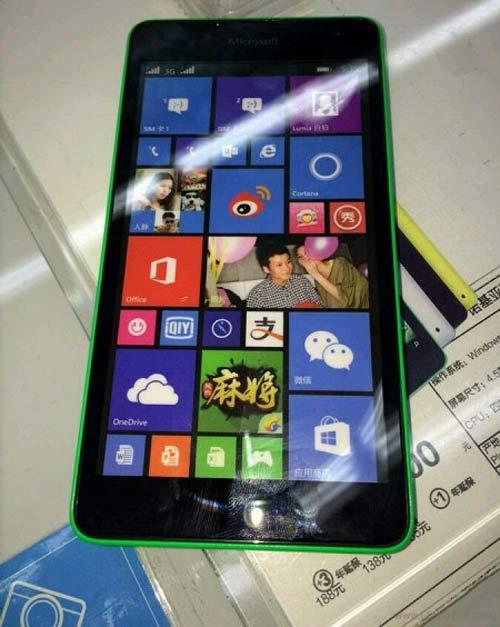 Điện thoại giá rẻ Microsoft Lumia 535 rò rỉ - 2