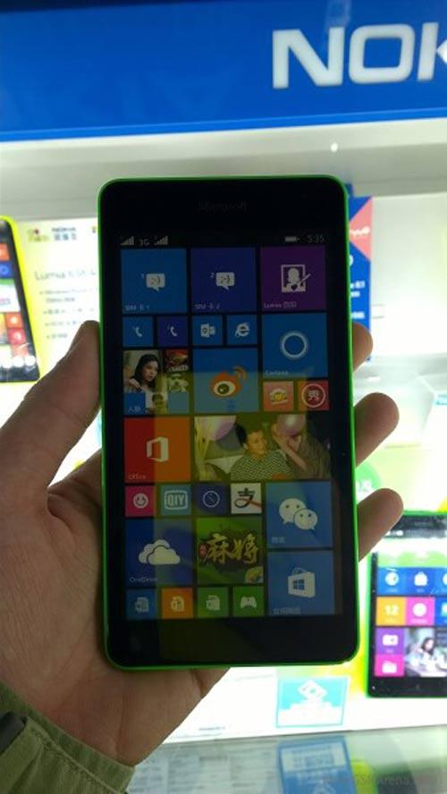 Điện thoại giá rẻ Microsoft Lumia 535 rò rỉ - 4