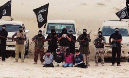 Phiến quân Ai Cập thề trung thành với IS - 1