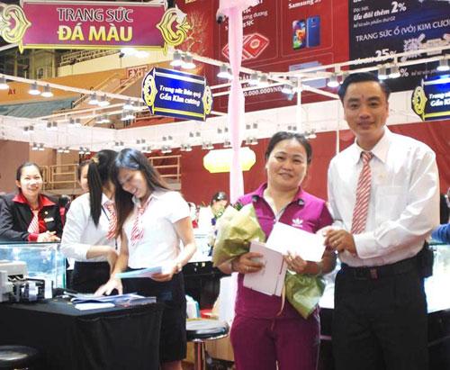 Thành công của DOJI tại hội chợ VIJF 2014 - 4