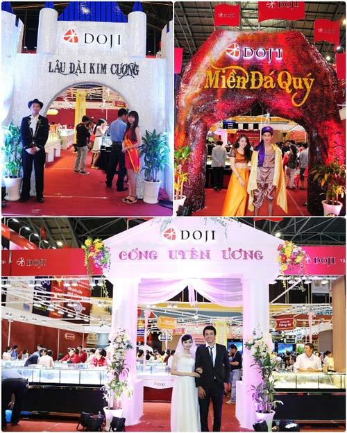 Thành công của DOJI tại hội chợ VIJF 2014 - 5