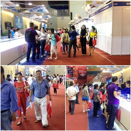 Thành công của DOJI tại hội chợ VIJF 2014 - 6
