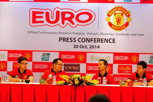 Eurofood trở thành đối tác chính thức của Manchester United - 1
