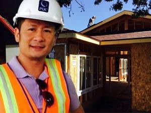 Bằng Kiều xây biệt thự gỗ lớn ở Mỹ