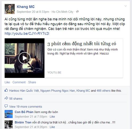 """Sao Việt kêu gọi cộng đồng mang """"yêu thương đền đáp yêu thương"""" - 1"""