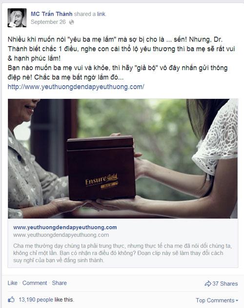 """Sao Việt kêu gọi cộng đồng mang """"yêu thương đền đáp yêu thương"""" - 4"""