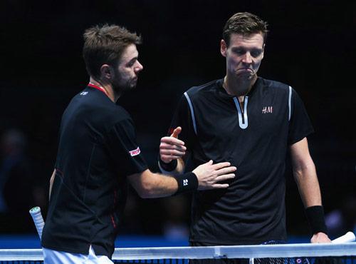 Wawrinka - Berdych: Kịch bản không ngờ (ATP Finals) - 1