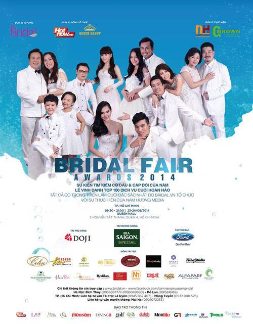 Không gian ngọt ngào tại Bridal Fair 2014 - 1