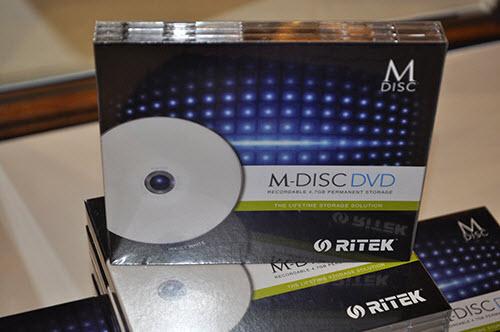 Ritek giới thiệu đĩa DVD 'lưu trữ ngàn năm' - 2