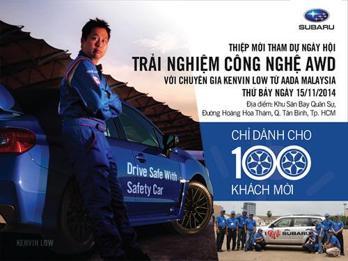 Cơ hội trải nghiệm siêu phẩm SUV Subaru trong tháng 11 - 4