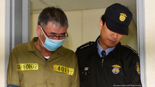 Thuyền trưởng phà Sewol chờ đợi án tử - 1