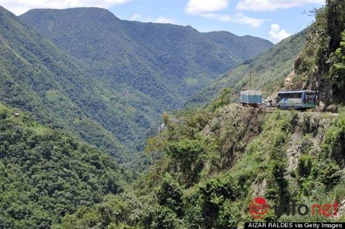 """Khám phá """"cung đường tử thần"""" dẫn tới rừng Amazon - 2"""