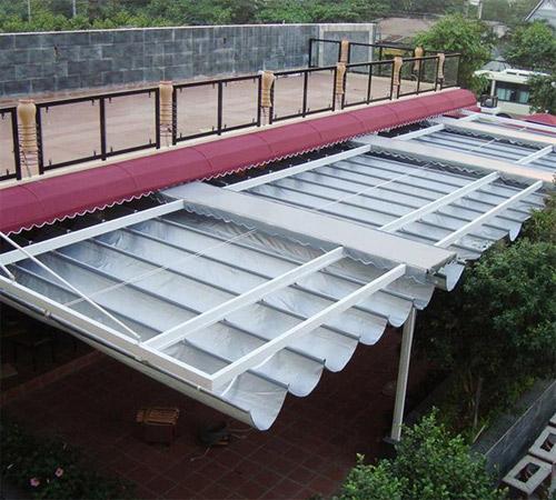 Lựa chọn mái hiên di động, mái che, mái xếp phù hợp với căn nhà bạn - 4