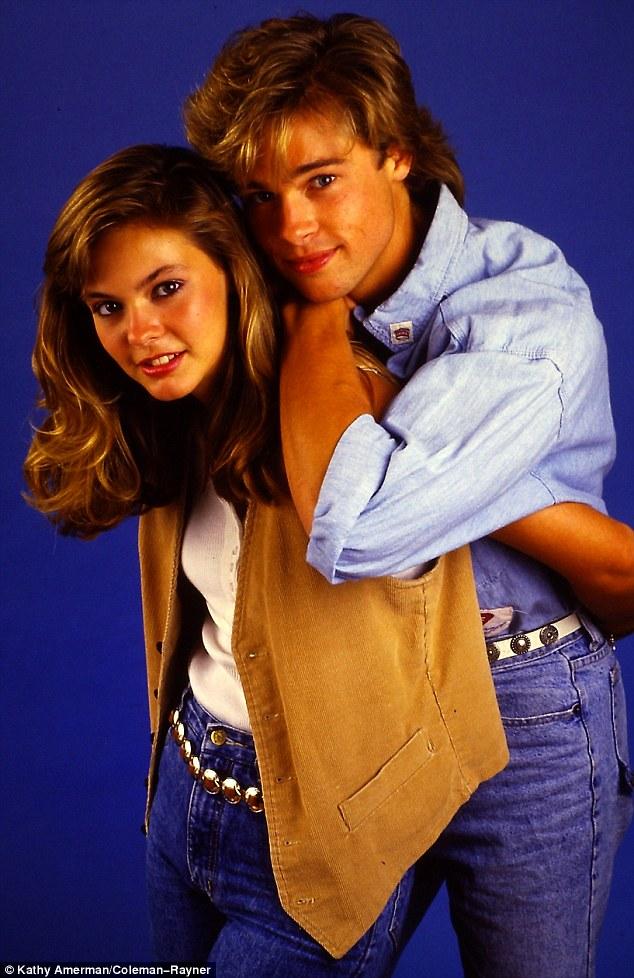 Ảnh Brad Pitt thuở mới vào nghề và bạn gái tin đồn - 1