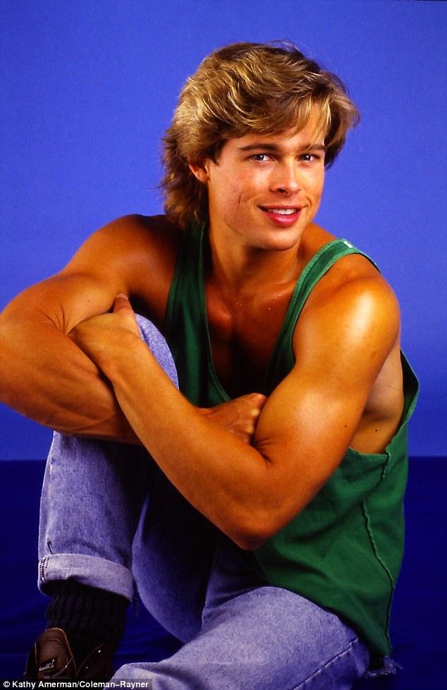 Ảnh Brad Pitt thuở mới vào nghề và bạn gái tin đồn - 3