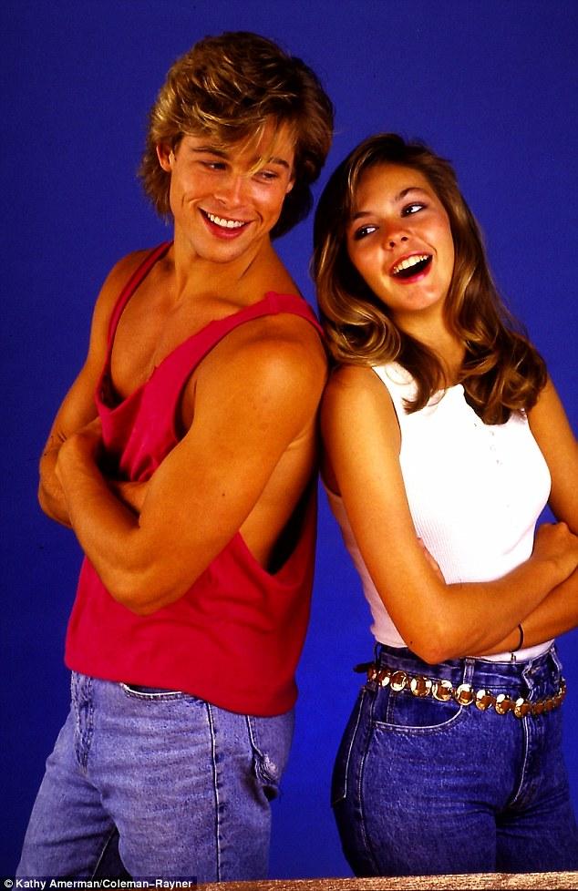 Ảnh Brad Pitt thuở mới vào nghề và bạn gái tin đồn - 2
