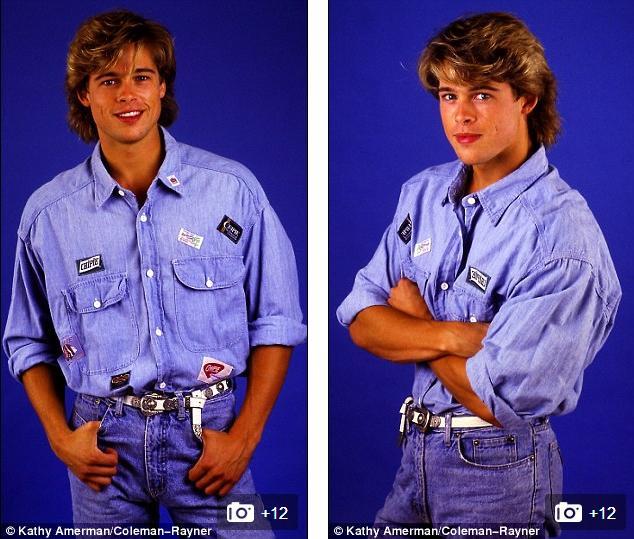 Ảnh Brad Pitt thuở mới vào nghề và bạn gái tin đồn - 6