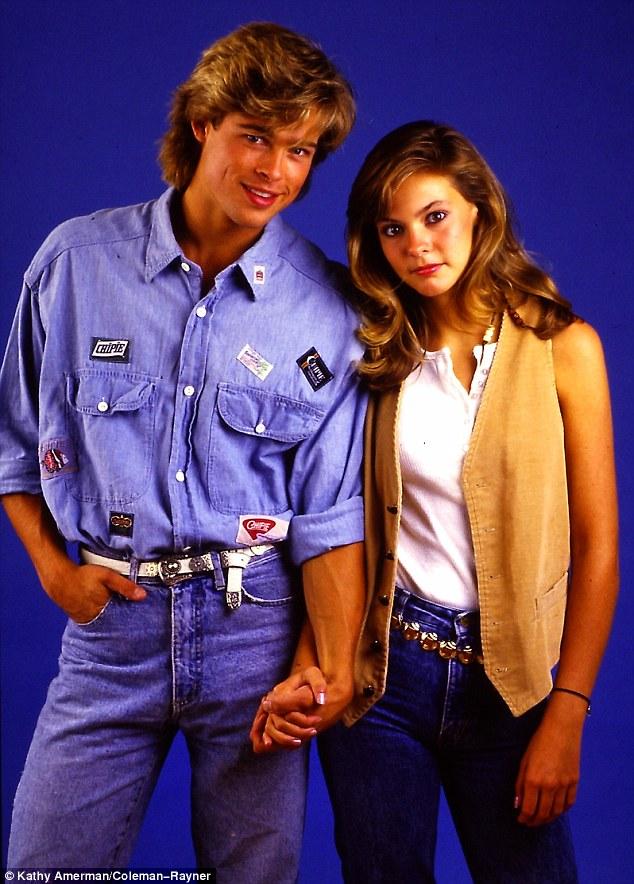 Ảnh Brad Pitt thuở mới vào nghề và bạn gái tin đồn - 7