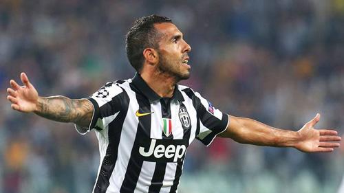 Pha solo đẳng cấp của Tevez đẹp nhất V11 Serie A - 1