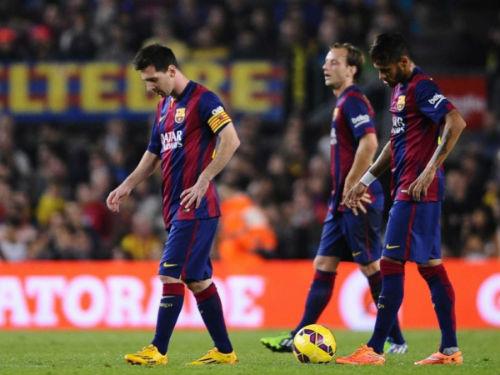 """Barcelona là đội """"đen đủi"""" nhất La Liga - 1"""