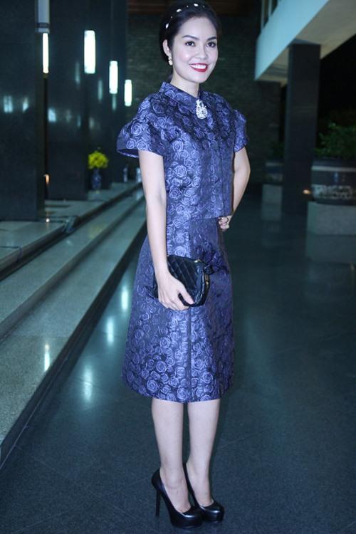 Hoa hậu Thu Thảo mong manh tựa thiên thần - 14