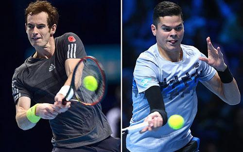 Murray - Raonic: Sống lại hi vọng (ATP Finals) - 1