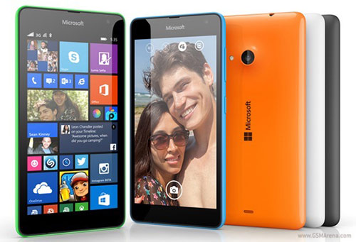 Microsoft Lumia 535 trình làng, giá cực mềm - 1