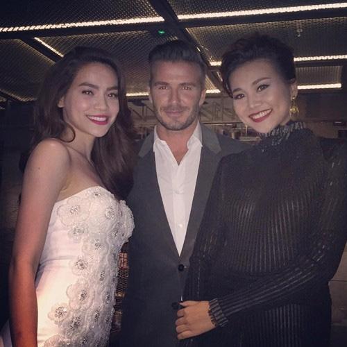 Thủy Tiên hút mọi ánh mắt khi đi gặp David Beckham - 8