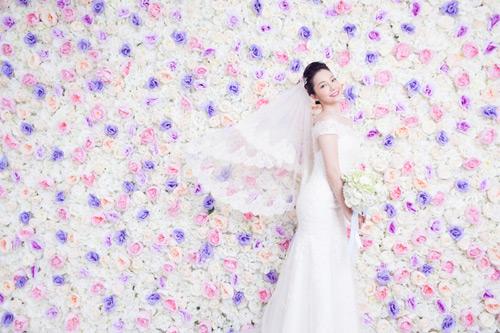 Diễn viên múa Linh Nga lại mặc áo cô dâu - 3