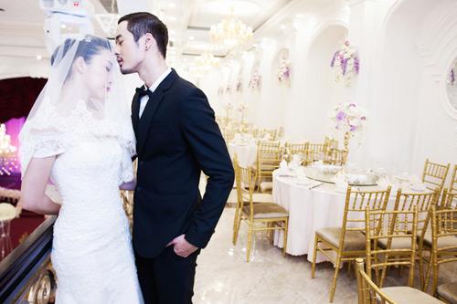 Diễn viên múa Linh Nga lại mặc áo cô dâu - 4