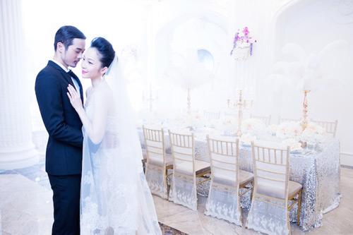 Diễn viên múa Linh Nga lại mặc áo cô dâu - 5