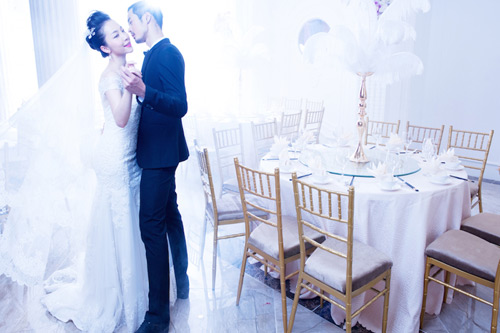 Diễn viên múa Linh Nga lại mặc áo cô dâu - 6