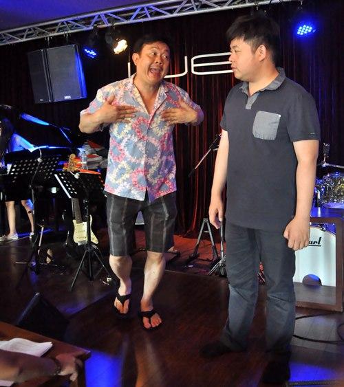 Quang Lê, Phương Mỹ Chi lần đầu diễn hài - 3