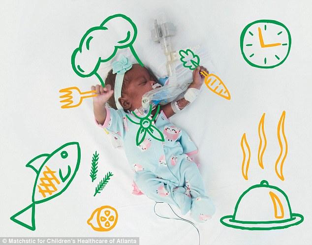 Y tá vẽ hình ngộ nghĩnh lên ảnh bé sơ sinh - 3