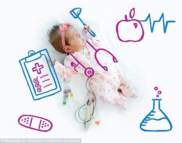 Y tá vẽ hình ngộ nghĩnh lên ảnh bé sơ sinh - 4