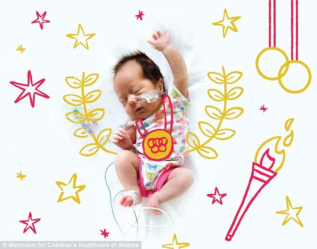 Y tá vẽ hình ngộ nghĩnh lên ảnh bé sơ sinh - 5