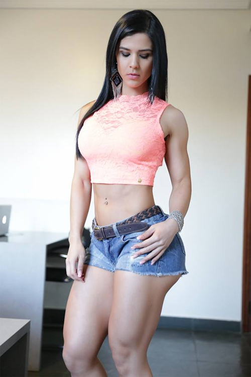 """Hoa hậu thể hình Brazil """"gây sốt"""" toàn thế giới - 2"""