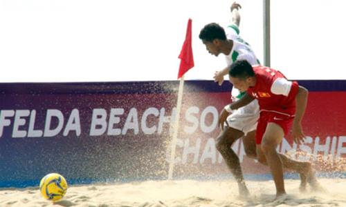 10 tuyệt phẩm bóng đá bãi biển năm 2014 - 1