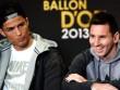 Messi sắp đối đầu Ronaldo: Thước đo tới QBV