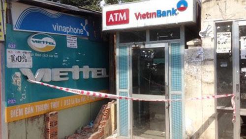 Ngăn chặn vụ cướp phá cây ATM lúc nửa đêm - 1