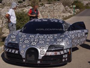 Lộ diện siêu xe Bugatti Veyron mới