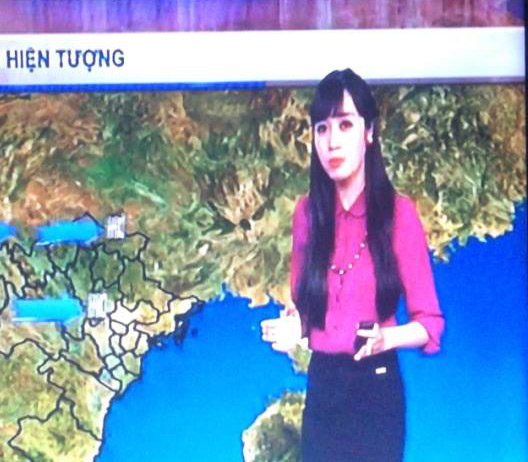 MC thời tiết VTV: Nghiệp của mình là giáo viên