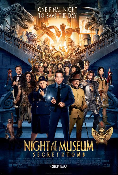 """Hú hồn với kịch tính trong """"Đêm ở viện bảo tàng 3"""" - 12"""