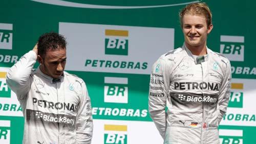 """Hamilton – Rosberg lên dây cót cho chặng """"chung kết"""" - 1"""