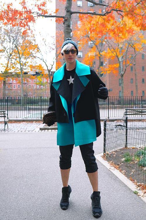 Lý Quí Khánh sành điệu khi dạo phố New York - 7