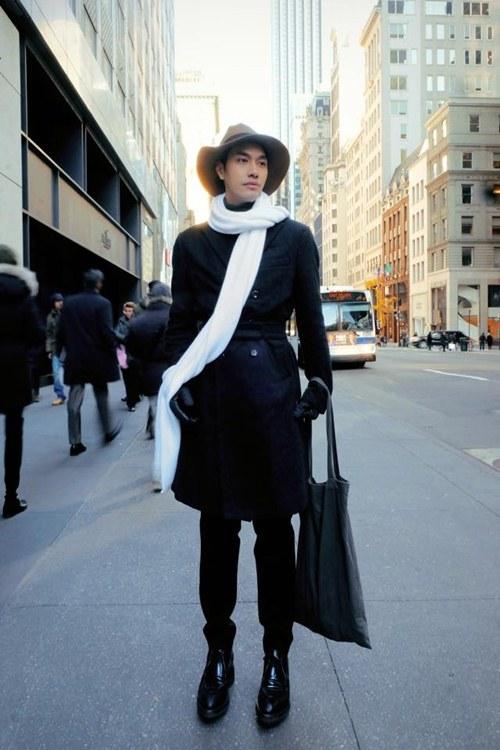 Lý Quí Khánh sành điệu khi dạo phố New York - 1