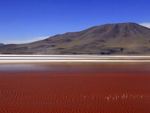 Ấn tượng hồ nước đỏ có một không hai thế giới - 5