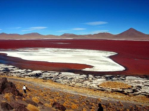 Ấn tượng hồ nước đỏ có một không hai thế giới - 7
