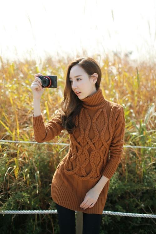 Váy len: Chiếc váy phải có của mùa này! - 7