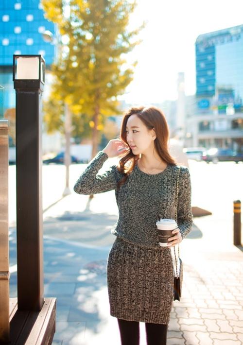 Váy len: Chiếc váy phải có của mùa này! - 8